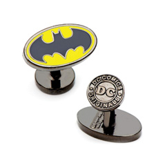 Oval Batman Cufflinks