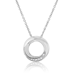 Path of Life Diamond Necklace