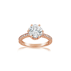 PENNY PREVILLE Liat Diamond Engagement Ring