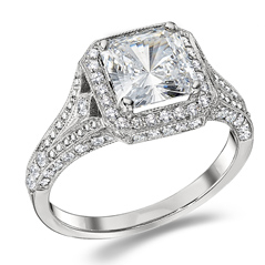 PENNY PREVILLE Mara Diamond Engagement Ring