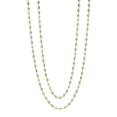 PENNY PREVILLE Moonstone & Diamond Necklace