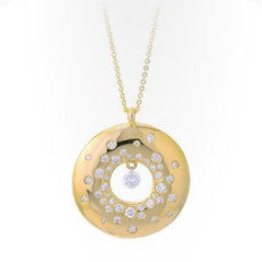 PONTE VECCHIO Diamond Circle Pendant