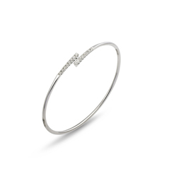 PONTE VECCHIO Iside Diamond Stacking Bangle