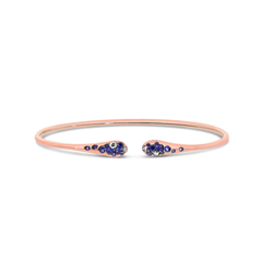 PONTE VECCHIO Iside Sapphire & Diamond Stacking Bangle