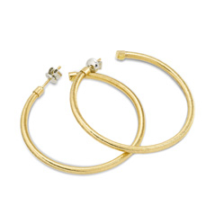 PONTE VECCHIO Nobile Large Hoop Earrings