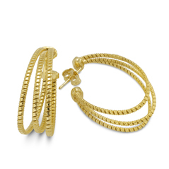 PONTE VECCHIO Olimpia Hoop Earrings