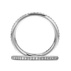 RITANI Endless Love Diamond Wedding Band