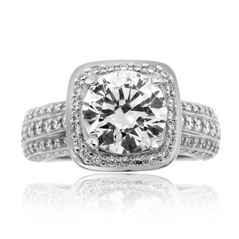 RITANI Masterwork Diamond Engagement Ring