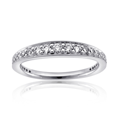 RITANI Modern Diamond Wedding Band