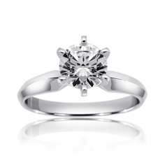 RITANI Solitaire Engagement Ring