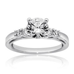 RITANI Trelis Diamond Engagement Ring