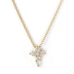 ROBERTO COIN Baby Cross Necklace