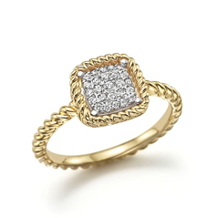 ROBERTO COIN Barocco Diamond Ring