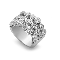 ROBERTO COIN Cento Frizzante Diamond Ring