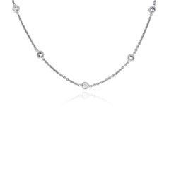 ROBERTO COIN Diamond by the Yard Necklace