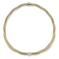 ROBERTO COIN Diamond Primavera Necklace