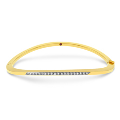 ROBERTO COIN Diamond Wave Bracelet