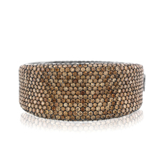 ROBERTO COIN Fantasia Champagne Diamond Bangle