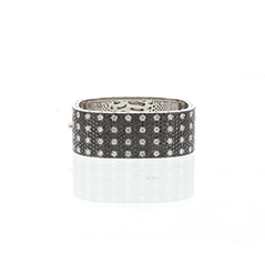 ROBERTO COIN Pois Moi Four Row Bangle
