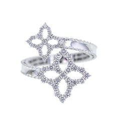 ROBERTO COIN Princess Flower Diamond Ring