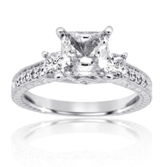 SCOTT KAY Diamond Enagement Ring