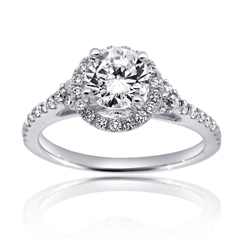 SCOTT KAY Luminaire Diamond Engagement Ring
