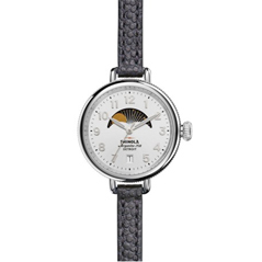 SHINOLA Birdy Moon Phase 34mm Watch
