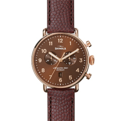 SHINOLA Canfield Chronograph 43mm Watch