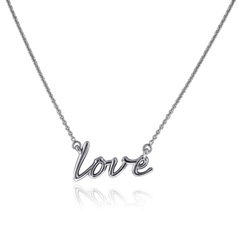 Small Love Necklace