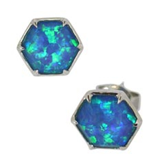STEPHEN WEBSTER Deco Haze Stud Earrings
