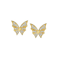 STEPHEN WEBSTER Fly by Night Diamond Earrings