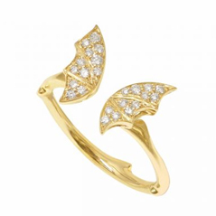 STEPHEN WEBSTER Fly by Night Diamond Ring