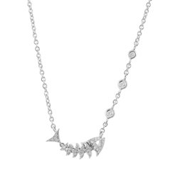 STEPHEN WEBSTER Jewels Verne Topkat Diamond Necklace