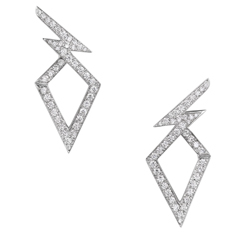 STEPHEN WEBSTER Lady Stardust Diamond Earrings
