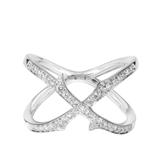 STEPHEN WEBSTER Thorn Diamond Crossover Ring