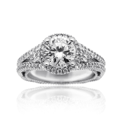 VERRAGIO Classic Diamond Engagement Ring