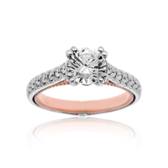 VERRAGIO Classico Diamond Engagement Ring