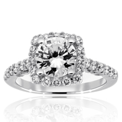 VERRAGIO Insignia Diamond Engagement Ring