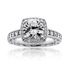 VERRAGIO paradiso Diamond Engagement Ring