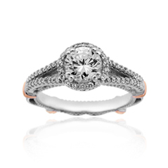 VERRAGIO Parisian Diamond Engagement Ring