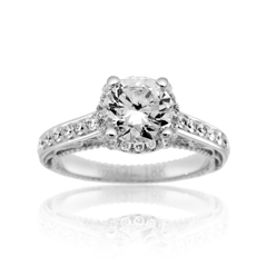 VERRAGIO Venetian Diamond Engagement Ring