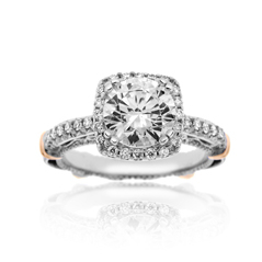 VERRGAIO Parisian Diamond Engagement Ring
