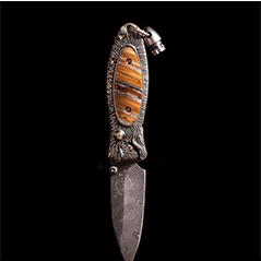 WILLIAM HENRY Morpheus 'Fire' Pendant Knife