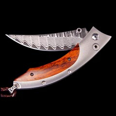 WILLIAM HENRY Persian Spinnaker Pocket Knife