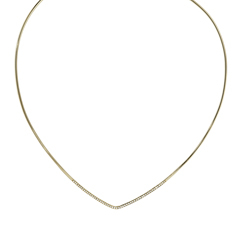 ZOE CHICCO Diamond Collar Necklace