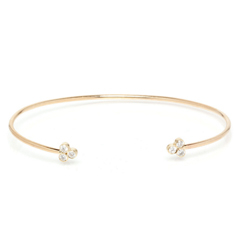 ZOE CHICCO Diamond Trio Cuff