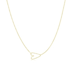 ZOE CHICCO Heart Necklace