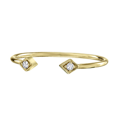 ZOE CHICCO Open Diamond Ring