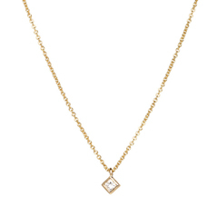 ZOE CHICCO Tiny Diamond Necklace