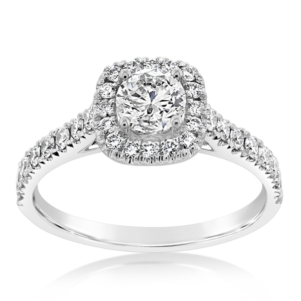 Complete 1.00 Carat Diamond Engagement Ring photo